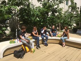Lunch outside DevRelCon Beijing