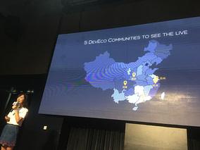 DevRelCon Beijing remote groups map
