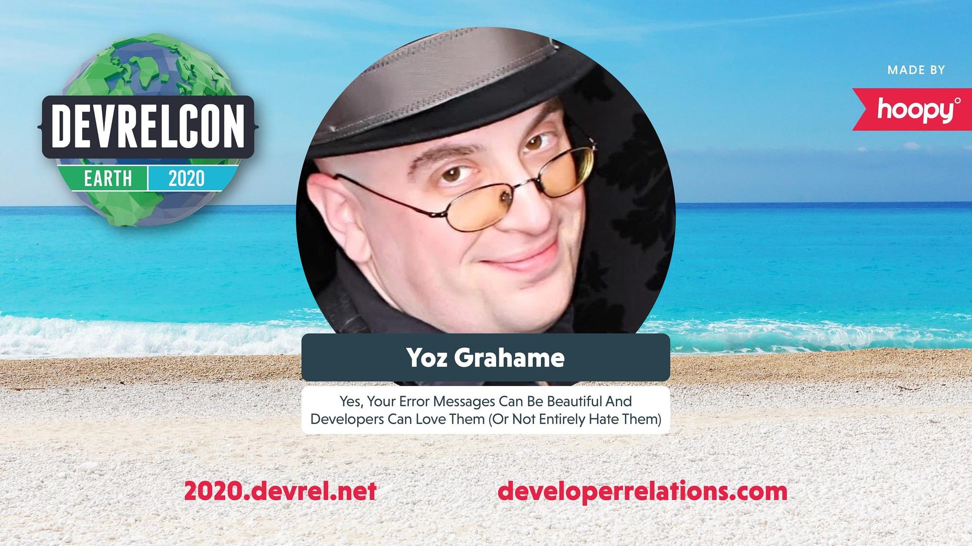 Yoz Grahame