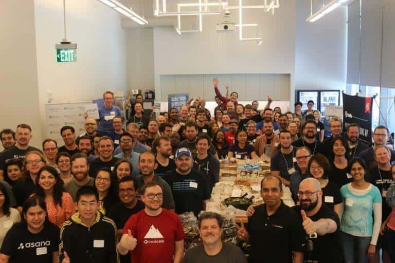 DevRelCon San Francisco 2016 crowd shot
