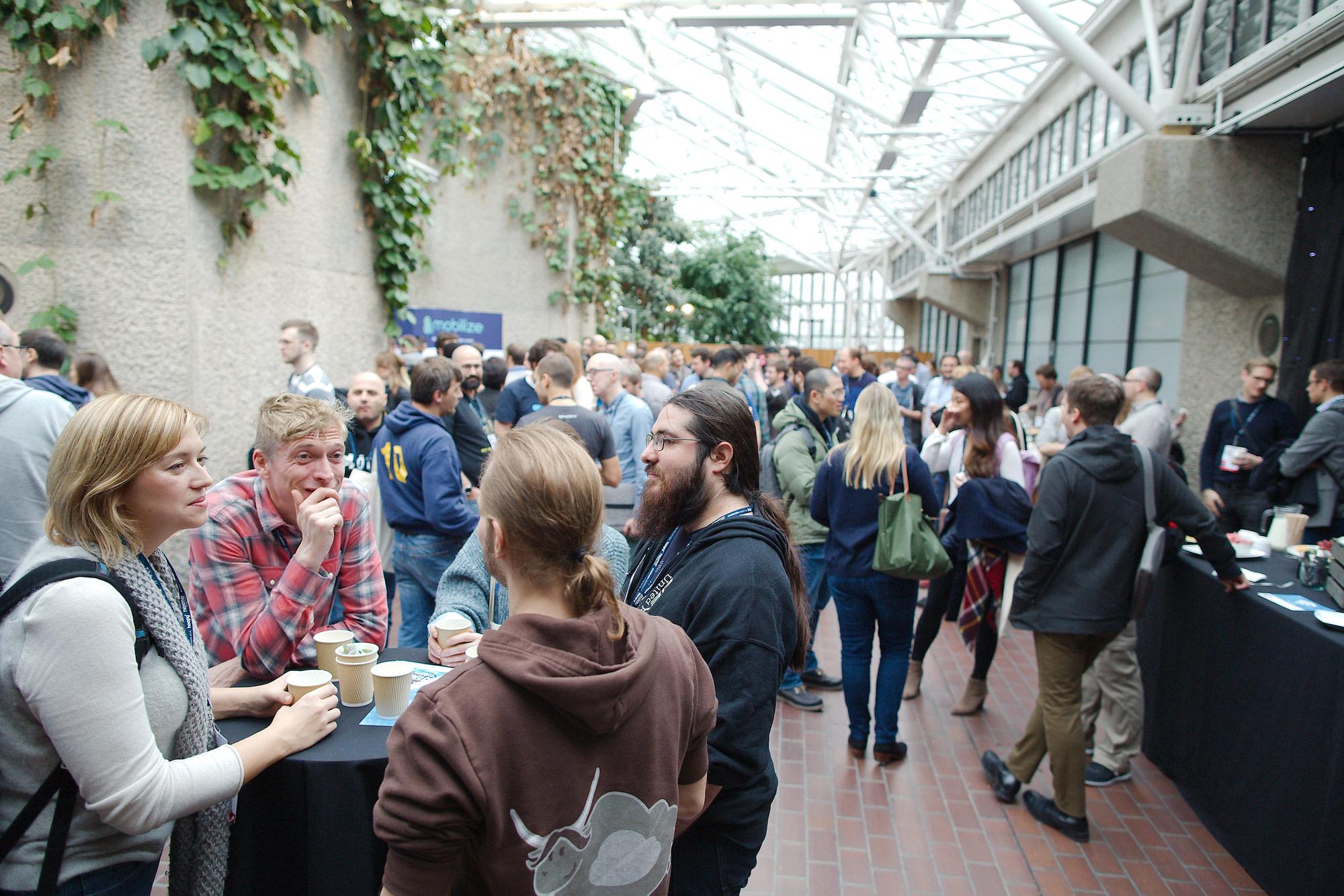 DevRelCon London 2016 crowd